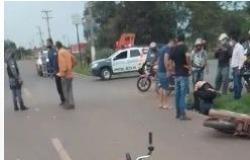 Motociclista morre em acidente envolvendo duas motos em frente à UFMT; VEJA FOTOS