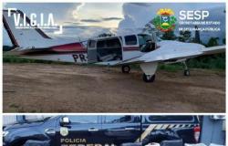 Piloto é preso em operação conjunta com Forças de Segurança com mais de 570 KG de drogas em avião