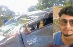Filho de ex-vereador morre após capotar Hilux