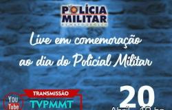 PM realiza live com promoção de 516 policiais militares e atrações musicais nesta terça-feira (20)