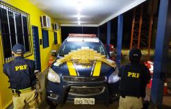 PRF em Diamantino prende homem transportando mais 30 kg de Cocaína