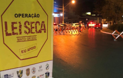 Sete motoristas são presos por embriaguez na madrugada desta quinta-feira em Cuiabá