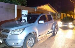 PM recupera cinco veículos durante o fim de semana em Cáceres