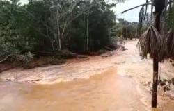 Chuva afeta estrutura, mas Sinfra descarta risco de queda de ponte em MT