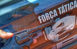 Força Tática de Sinop e Vila Rica prendem suspeitos por porte ilegal de arma de fogo