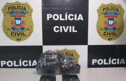 Polícia Civil de Cáceres prende jovem reincidente no tráfico de drogas