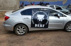 Polícia Civil recupera veículo furtado em Goiás que circulava com placa clonada