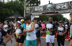 Corrida do Bope leva 4.500 atletas às ruas para prática esportiva e de solidariedade