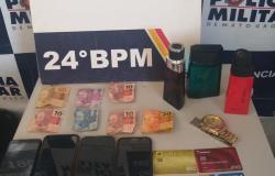 Suspeito é detido depois de roubar estabelecimento comercial na Capital