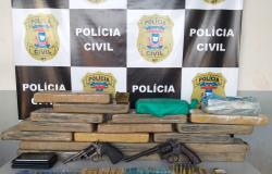 Polícia Civil apreende cerca de 20 quilos de droga e prende 7 suspeitos