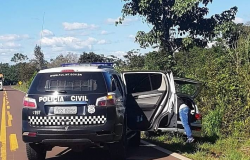 Polícia prende homem que transportava drogas em rodovia
