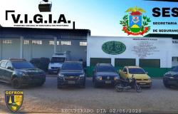 Sete são presos por tentarem levar Duster e S-10 locados para Bolívia