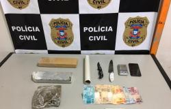 Polícia Civil prende traficante pela segunda vez no interior