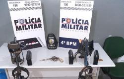 Suspeitos de roubo a garimpo são presos com detectores de metal