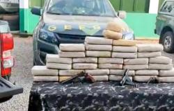 Três baleados em tiroteio com policiais do Gefron em MT; droga avaliada em R$ 85 mil apreendida