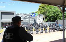Companhia Independente de Força Tática de Cáceres inagura nova sede