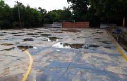 Seduc investe R$ 649 mil em nova quadra poliesportiva para escola de Várzea Grande