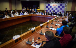 Prefeitos eleitos no interior destacam obras de pavimentação do Governo de MT