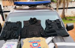 Polícia Civil apreende armas, coletes e munições em área de conflito agrário na fronteira