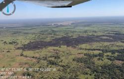 Incêndio em Terra Indígena no Pantanal de MT é controlado pelos bombeiros