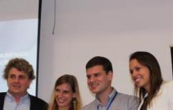 O emprrendedor de Rondonópolis, Filipe Ferreira vence Venture Day da IE Business School