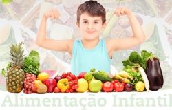 Alimentação Infantil - A importância de hábitos saudáveis nesta fase da vida.