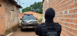 Polícia Civil cumpre busca e apreensão e prende um em flagrante