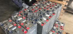 Mais de 200 baterias furtadas de estações de telefonias são recuperadas pela Polícia Civil em depósito, na Capital