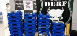 Traficante  é preso com 111 tabletes de maconha que seriam distribuídos em Rondonópolis