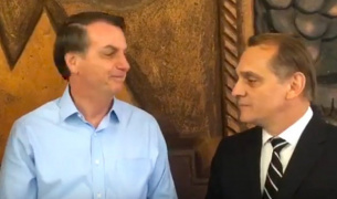 Bolsonaro se reúne com deputado de MT e confirma que vai inaugurar trecho da 163 no Pará