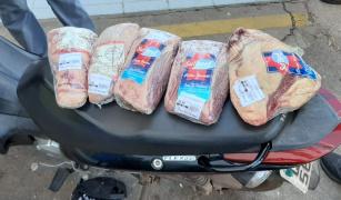 Polícia Civil prende suspeito de furtar peças de carne para revender em açougues