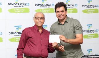 DEM lança pré-candidato a prefeito em Diamantino