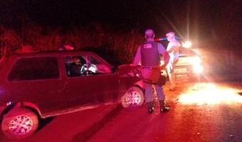 Homem é detido depois de ameaçar e atirar em pessoas envolvidas em acidente