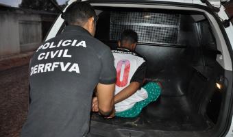 Estuprador foragido de MS é preso  em Nova Brasilândia