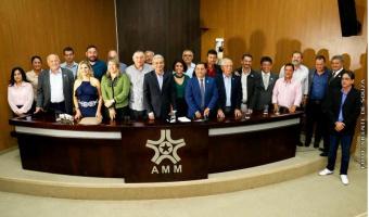 Prefeito de Nobres integra nova diretoria  da AMM