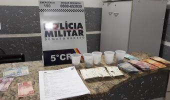 Policia Militar recaptura foragido de Goiás com mais de 10 notas falsas