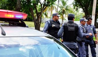 PM prende suspeito que agrediu e ameaçou esposa com facão