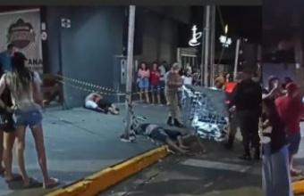 Criminosos matam um e ferem dois em bar em MT