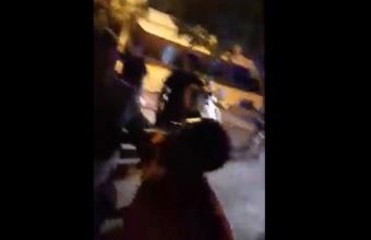 Covid-19 faz polícia e trabalhadores entrarem em confronto em bar (Vídeo)