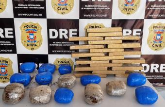 Operação da polícia combate o transporte de entorpecentes na rodoviária da Capital