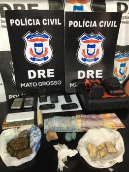Irmãos que mantinham empresa de fachada para comércio de drogas são presos