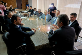 Entidades envolvidas com o sistema prisional do Estado apresentaram uma proposta ao governador - Foto por: Mayke Toscano   Secom MT