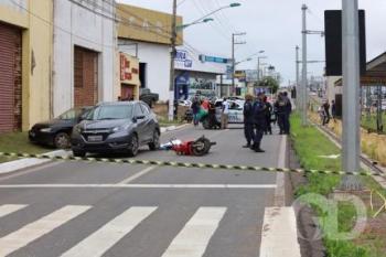 Guarda de Trânsito morre em acidente na Avenida da FEB