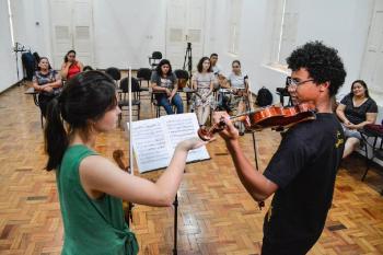 O Instituto Ciranda - Música e Cidadania é um dos 32 Pontos de Cultura apoiados pelo Governo de Mato Grosso via Secretaria de Estado de Cultura, Esporte e Lazer - Foto por: Tchélo Figueiredo
