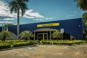Fachada Banco do Brasil - Palácio Paiaguás - Foto por: Secom-MT