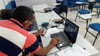 Os professores pretendem tirar todas as dúvidas para iniciar o ano letivo de forma remota - Foto por: Divulgação
