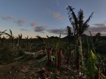 Ciclone bomba que atingiu o sul do país provocou danos em diversos municípios - Foto: Pedro Loyola