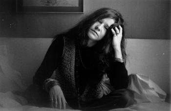 Janis Joplin em Londres, em 1969.EVENING STANDARD /