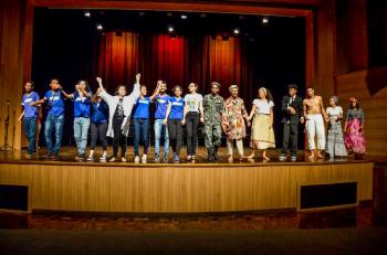 Caminhos da Cultura - Cine Teatro                                              Foto por: João Felipe/Secel-MT