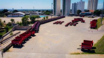A solenidade de entrega será realizada no pátio do ginásio Aecim Tocantins. - Foto por: Lucas Diego- Assessoria Seaf